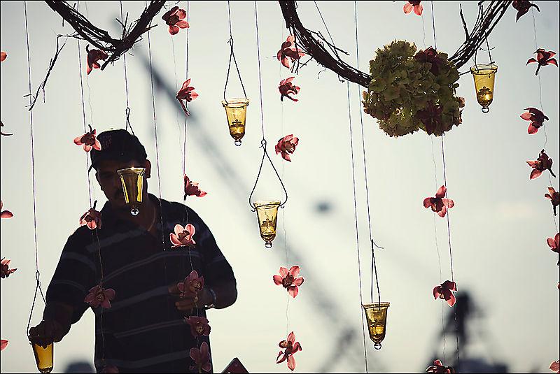 Hangingcandles